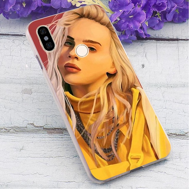 BILLIE EILISH REDMI NOTE CASE (10 VARIAN)