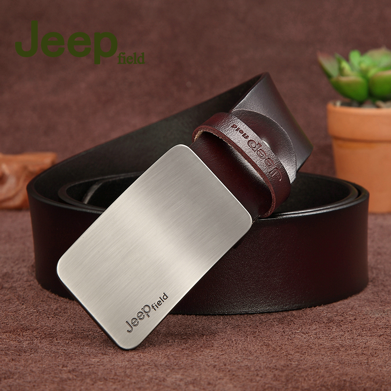 Men's Genuine Leather   Belt   High Quality New Designer   Belts   Men Luxury Strap Male Waistband Fashion Vintage Buckle   Belt   for Jeans