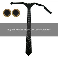 GEOMETRIC BLACK FASHION ACRYLIC STRIPED NECKTIE SLIM LUXURY FLORAL BOW TIE MEN ACCESSORY FOR WEDDING BUSINESS PARTY FORMAL DRESS