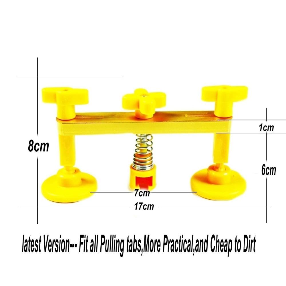 2 in One Slide Hammer Dent Puller Kit + Strumenti per la rimozione di - Set di attrezzi - Fotografia 3