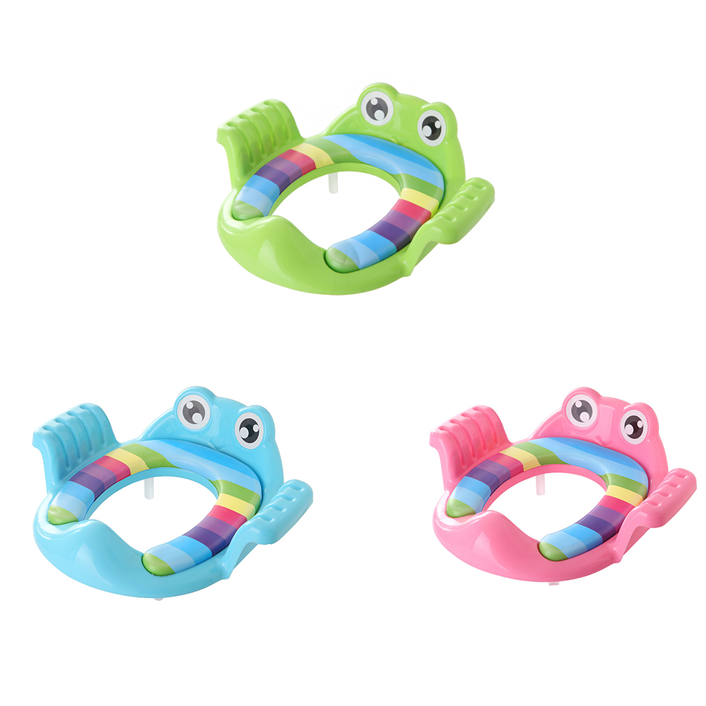 3 Colors Baby Travel Potty Seat 2 In1 Portable Toilet Seat Kids Comfortable Assistant Multifunctional Environmentally Stool