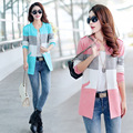 New 2016 Fashion Spring and Autumn long cardigan sweater coat female ladies tops cashmere sweater women trench C252
