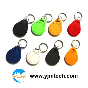 Free shipping 100pcs/lot ABS03-EM4305 125Khz Rewritable RFID Proximity ID Keyfobs with EM4305 chip writable keytags