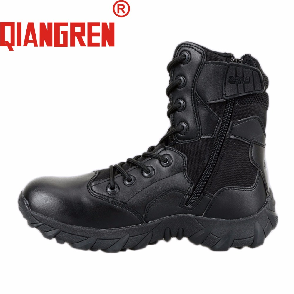 QIANGREN High-grade Quality Military Factory-Direct Mens Tactical Boats Climbing Desert Boots Outdoor Explore Safety Shoes Botas a low cost factory direct high grade high cycle life lithium polymer battery 801745