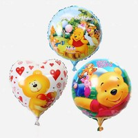 Birthday Party Decoration 18 Inch Cartoon Aluminum Foil Balloon 5 Loaded Animals Balloon Children S Toys