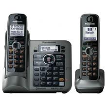 2 Teléfonos KX-TG7641 serie DECT 6.0 link-a-celular teléfono Inalámbrico Teléfono inalámbrico Digital