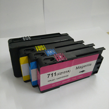 4pcs Printer Ink Cartridge For HP711 for hp 711 cartridge For HP Designjet T120 T520 Printer ink