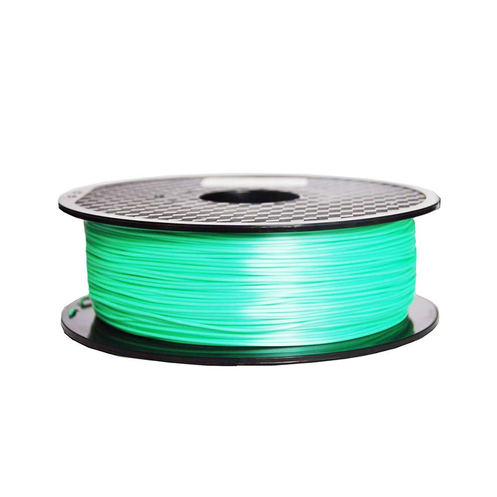 Silk Like 3D Printer Filament 1kg Silky PLA Red Green Natural Blue 3 D Print Materials 1 75mm in 3D Printing Materials from Computer Office