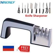 Knife Sharpener Family Sharpener for Stainless Steel Knife Shears and Scissors Sharpener Suitable for Many Kinds of Cutting Tool