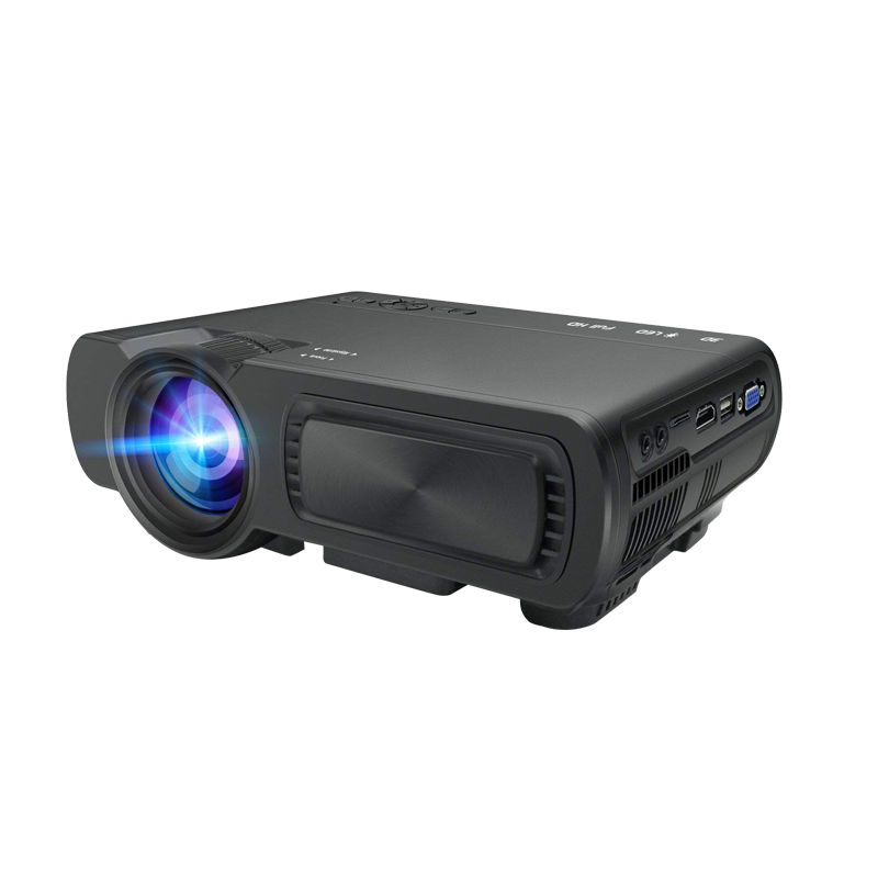 Portable T5 <font><b>Mini</b></font> Android Wifi Smart full <font><b>hd</b></font> LED <font><b>Projector</b></font> Videos HDMI Home Cinema Movie Media Proyector/Beamer image