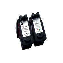 1Set Ink Cartridge for PG210 CL211 CL-211 Compatible with Canon MP240 MP250 MP270 MP280 MP480 iP2700 iP2702 MP490 MP495 MX320
