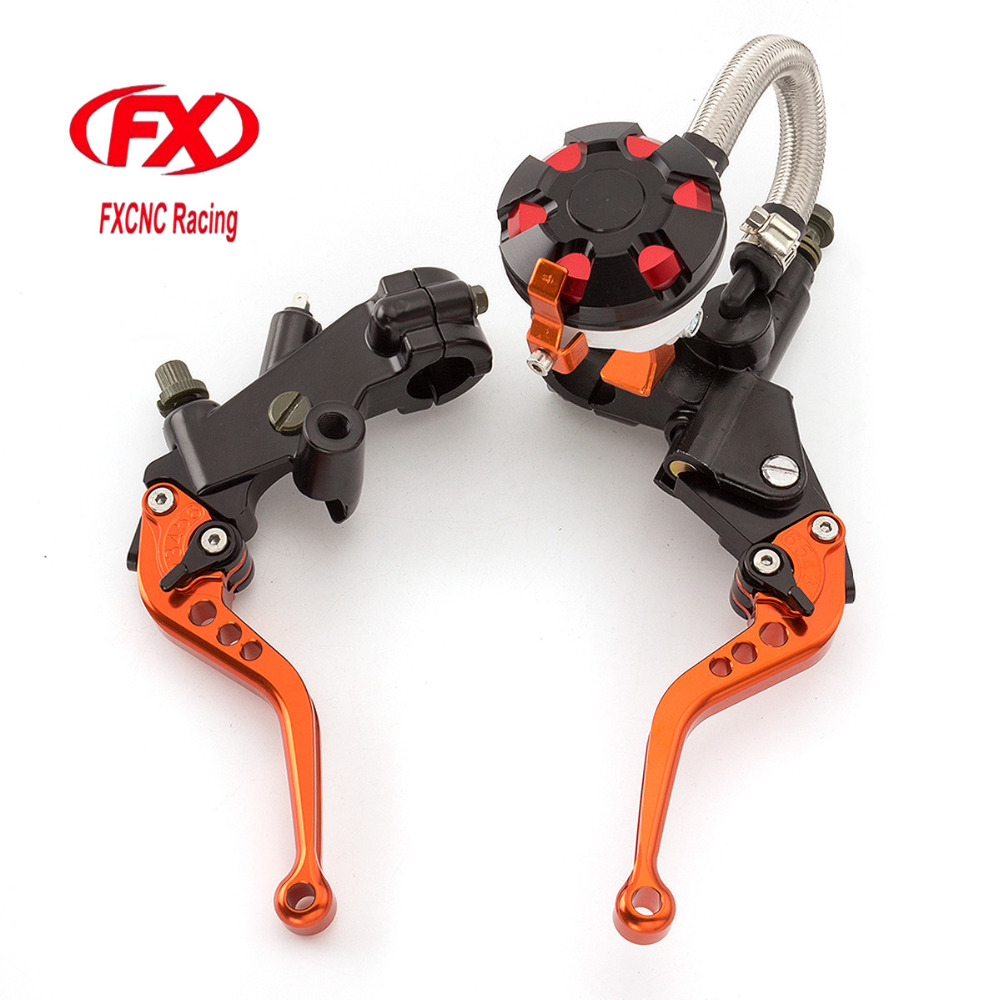 FX CNC 7/8 Motorcycle Brake Clutch Lever Master Cylinder Reservoir Hydraulic For Yamaha MT-25 2015 - 2016 Motorcycle Accessorie fx cnc 7 8 motorcycle brake clutch lever master cylinder reservoir hydraulic for hyosung gt250r 2006 2010 2009 2008 2007