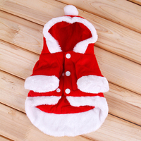 Dog Clothes Winter Warm Coat Pet Cotton Fabric Clothing Care Disfraces Parka Perro Dog Wearing Clothes Costume For Dogs 50M0050