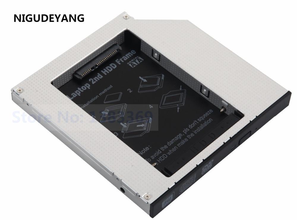 NIGUDEYANG 2nd hard disk drive HDD SSD Enclosure Caddy For ACER ASPIRE 5600 5100