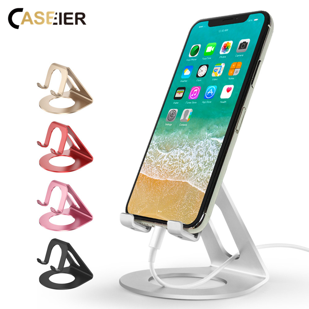 CASEIER Phone Holder Stand For Your Mobile Phone Desk Holders For iPhone X 8 7 Samsung Xiaomi Smartphone Holder Telefon Tutucu mobile phone