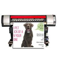 Xp600 eco-impressora solvente plotter ao ar livre flex banner máquina de impressão de vinil tela única cabeça impressora ecosolvente