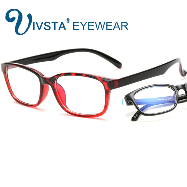 IVSTA Computer Glasses Frames Anti Blue Rays Radiation Men Women Square Glasses Optical Gaming Men Women Game Phone Eyes C028 4