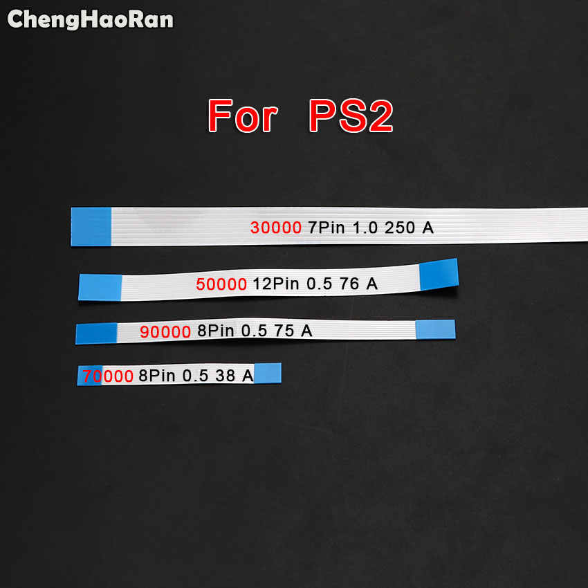 Chenghaoran 6/8/10/12/14 Pin Power Switch Tombol Pita FLEX Kabel untuk Sony PS4 PS3 Slim 2000 2500 4000 PS2 30000 5 W Controller