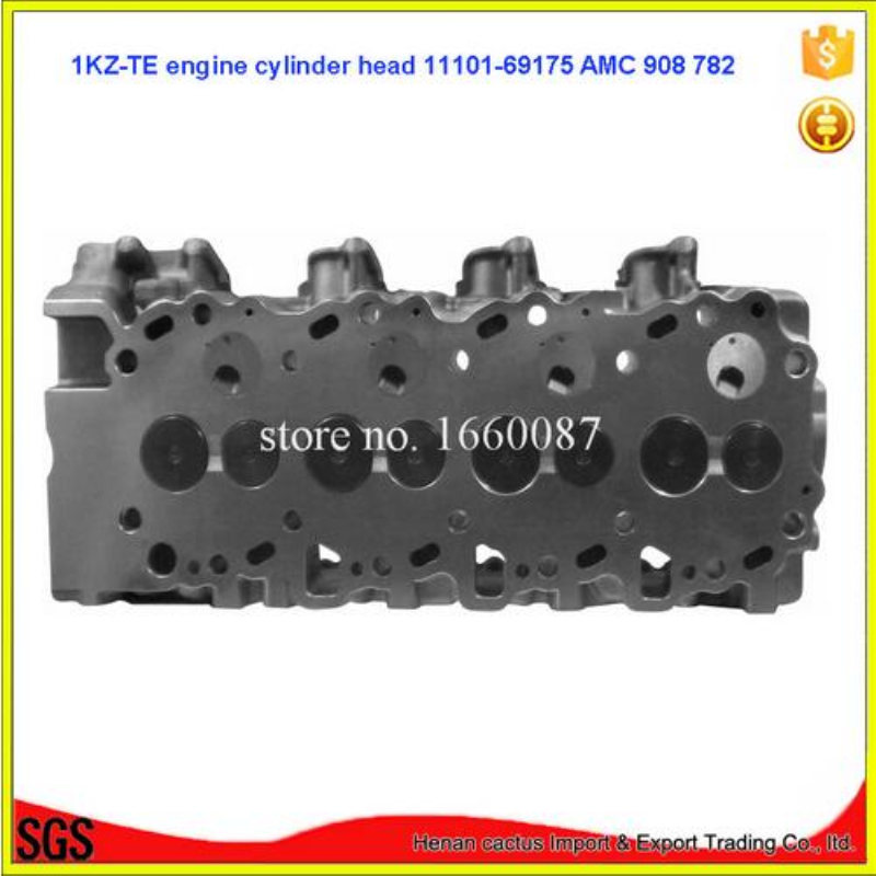 Полная головка цилиндра 1KZ TE в сборе/ASSY Land Cruiser 90/Prado/4 бегун/Hi lux 2982cc 3.0TD 8v 2000
