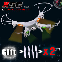 Have 3 Sets Of Blades RC Helicopter SYMA X5c 6 Axis GYRO Drone Quadcopter With 2MP