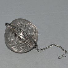 3'' Inch Stainless Steel Tea Ball Infuser 10 pieces Homebrew Hop Ball Dry Beer Hops Mesh Screen Brewing Keg