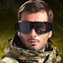 X800 Military Goggles 3 Lenses Tactical Army Sunglasses Pain