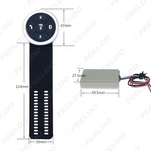 Image 5 - MOTOBOTS 1 مجموعة جديدة 7 مفتاح سيارة لاسلكية عجلة القيادة زر التحكم مع الراتنج حزام للسيارة أندرويد DVD/لتحديد المواقع لاعب الملاحة