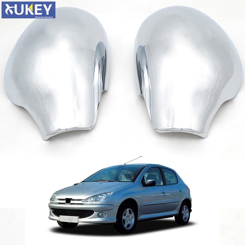 Peugeot 206 206 Right Driver Mirror Cover Cap Near Side Silver New