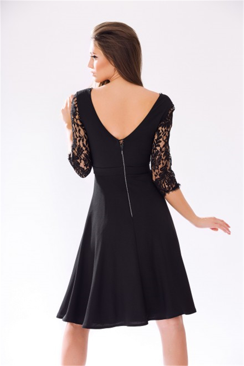 09037d499 2015 Sexy encaje negro gasa Vestido de cóctel corto mujeres vestidos  formales vestidos fiesta para mujer vestidos Vestido sociales Curto en  Vestidos de ...
