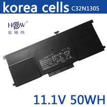 New 50Wh Genuine C32N1305 Battery for ASUS Zenbook Infinity UX301LA Ultrabook Laptop new 11 31v 50wh c31n1339 original laptop battery for asus zenbook ux303l q302l series