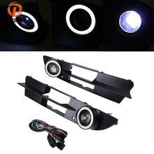 POSSBAY подходит для BMW 5 серии E60 седан 2003/2004/2005/2006/2007 предварительно подтяжку лица передний бампер противотуманные фары лампы решетка гриль