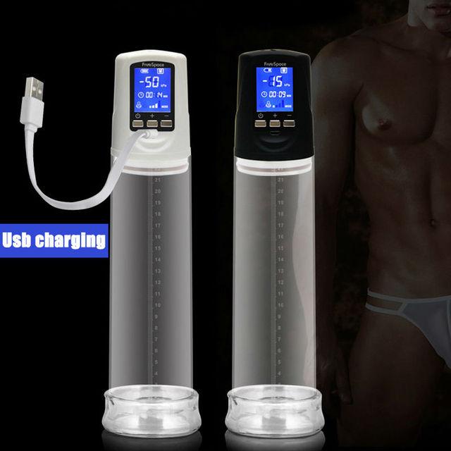 LED Automatic Penis Enlarger Male Enhancement