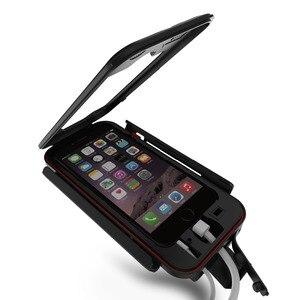 Image 2 - AntiShock Impermeabile Della Bicicletta Supporto Del Telefono Supporto Del Basamento Del Telefono per iPhoneX 8 7 5 s 6 s Moto GPS Holder Supporto telefono Moto