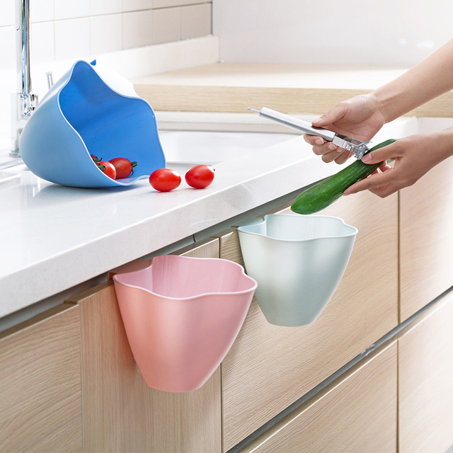 portable cabinet hanging trash cans kitchen countertop storage box rh aliexpress com Kitchen Countertop Storage Cabinet Kitchen Counter Organizers