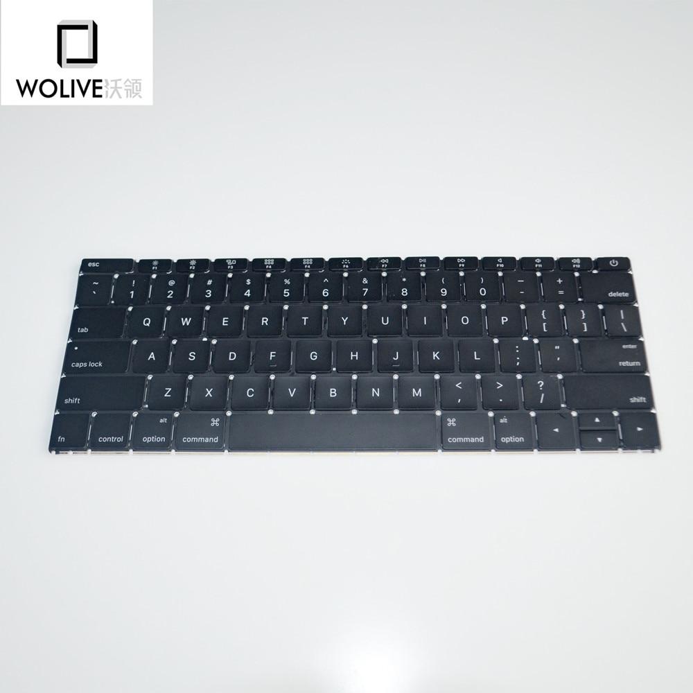 Original New A1534 Keyboard 2015 for font b MacBook b font Retina 12 A1534 US Layout