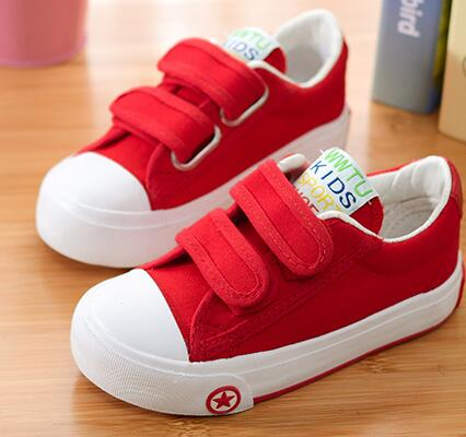 2017 casual canvas candy colorful cool high top children