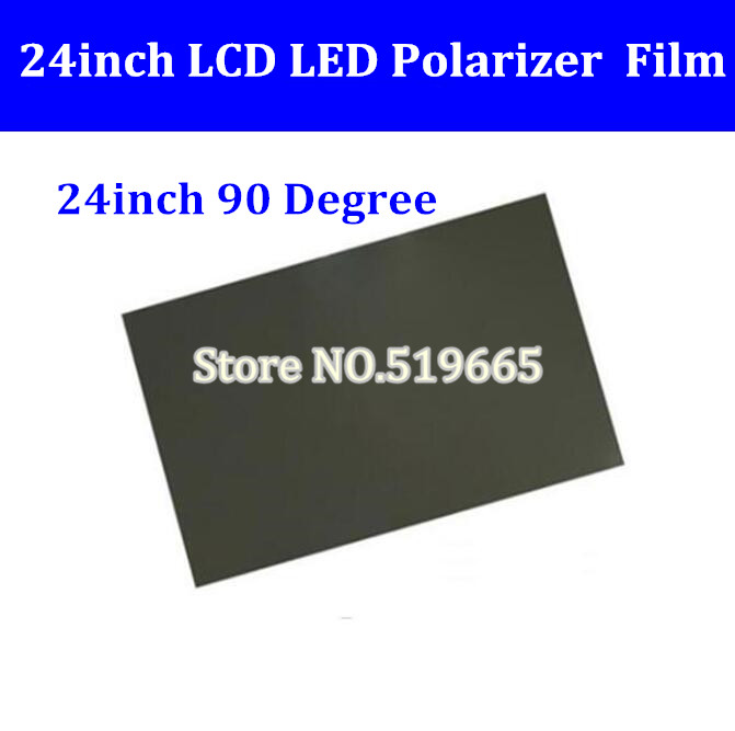 New <font><b>24inch</b></font> 90 degree Glossy 24 inch LCD Polarizer Polarizing Film for LCD LED IPS Screen for <font><b>TV</b></font> image