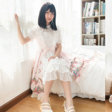 Sweet Lolita Victorian Dress JSK Tea Party Outfit Masquerade Halloween Costume for Women Loli Maid Cosplay Plus Size
