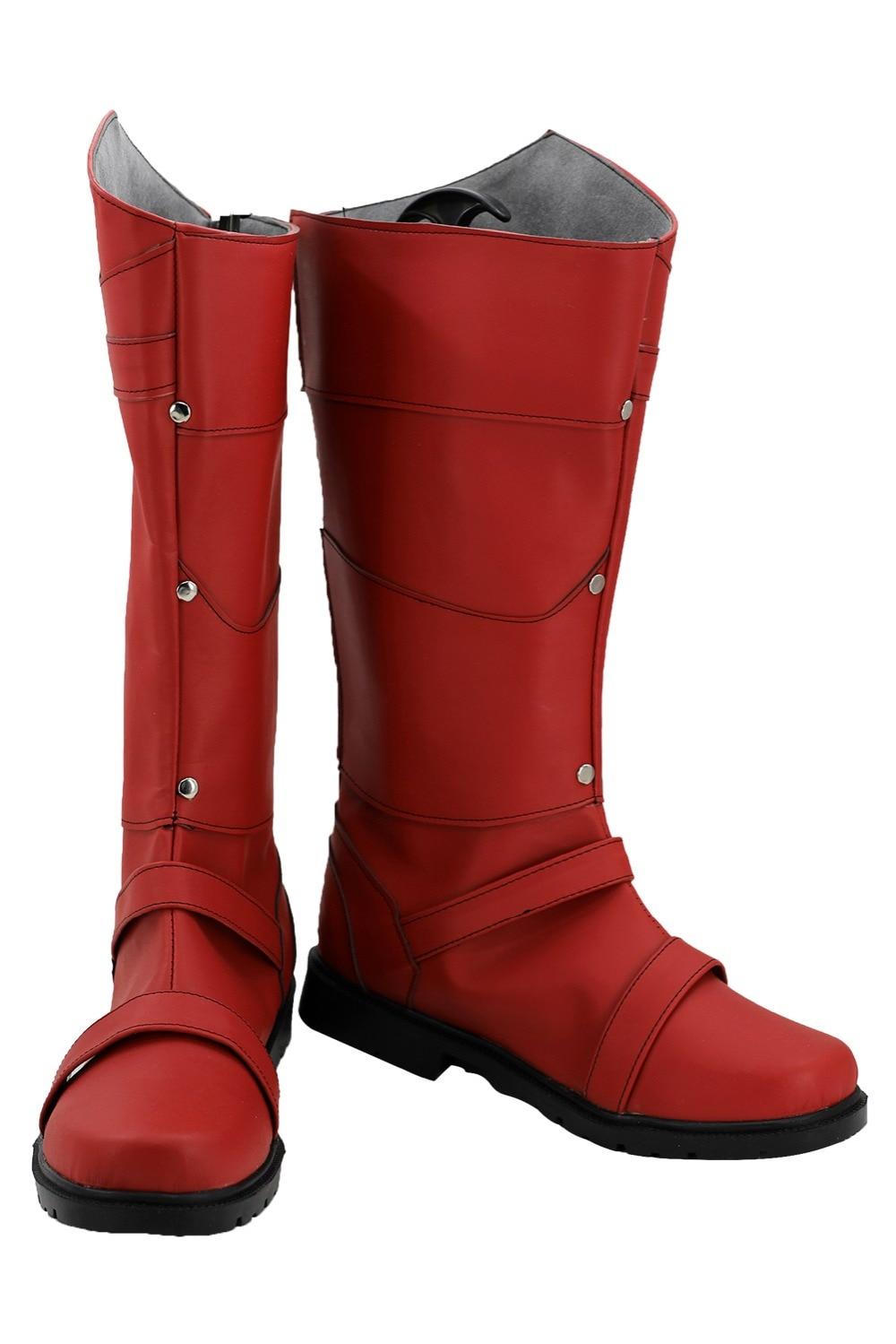 Cosplay X-men Max Eisenhardt Magneto Cosplay Boots Shoes Adult Men Superhero Cosplay Costume Custom Made European Size