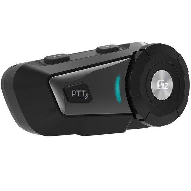 AiRide G2 500m Motorcycle Bluetooth Helmet Intercom Headset MP3 FM for Siri Command Handsfree BT Interphone for Full Face Helmet