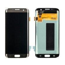 """20 PCS/Lot 5.5 """"LCD Penggantian untuk Samsung Galaxy S7 Tepi G935 LCD Layar Sentuh dan Digitizer Majelis Gratis Pengiriman"""