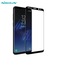 Screen Protector For Samsung Galaxy S9 / S9 Plus Full cover Nillkin 3D CP+MAX Anti-Explosion Tempered Glass For Samsung S9 Glass nillkin защитное стекло anti explosion glass screen cp max 3d для iphone 6 6s 4 7