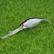1pcs Plastic Minnow Fishing Lures 11.5cm/9.6g Hard Wobblers