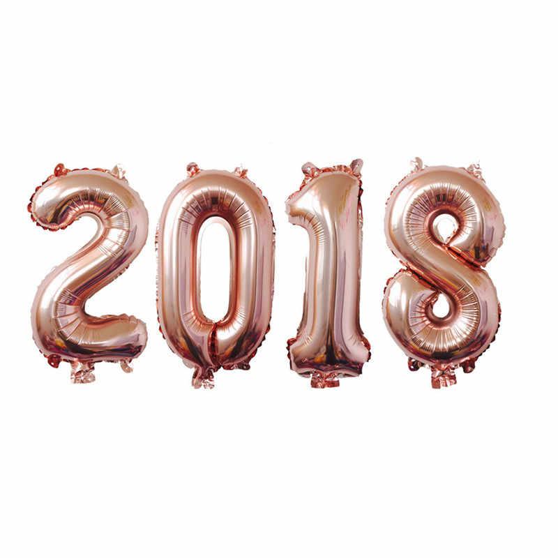 Бокал для шампанского золотого номера Фольга воздушные шары обручальное кольцо из розового золота с днем рождения декоративные шары для вечеринки cumpleaños infantiles воздушный шар в форме цифры