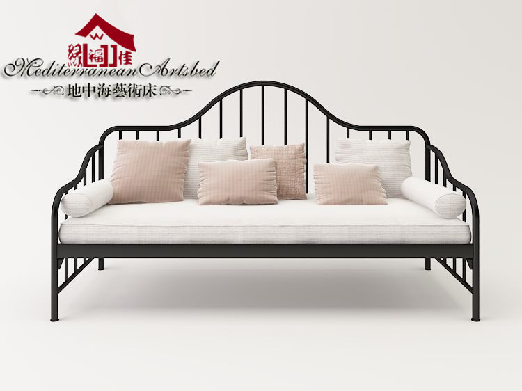 Beau Wrought Iron Sofa Bed Art Metal Skeleton Fujian Dismantling Continental  Furniture Double Sofa Bed In Hotel Beds From Furniture On Aliexpress.com |  Alibaba ...