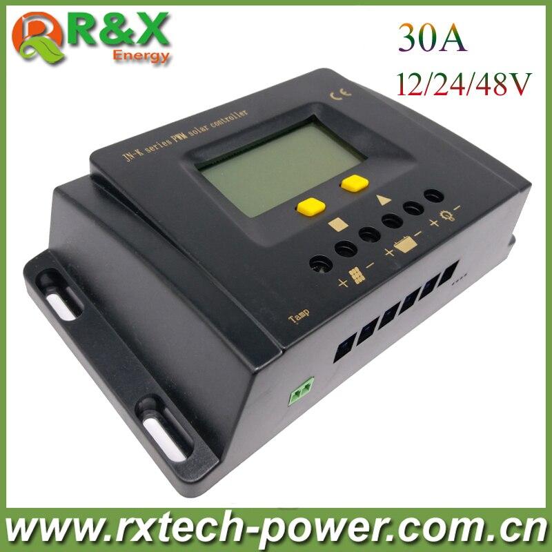 все цены на  Hot selling 30A solar charge controller for streetlight 12V/24V/48V, waterproof solar panel controller  онлайн