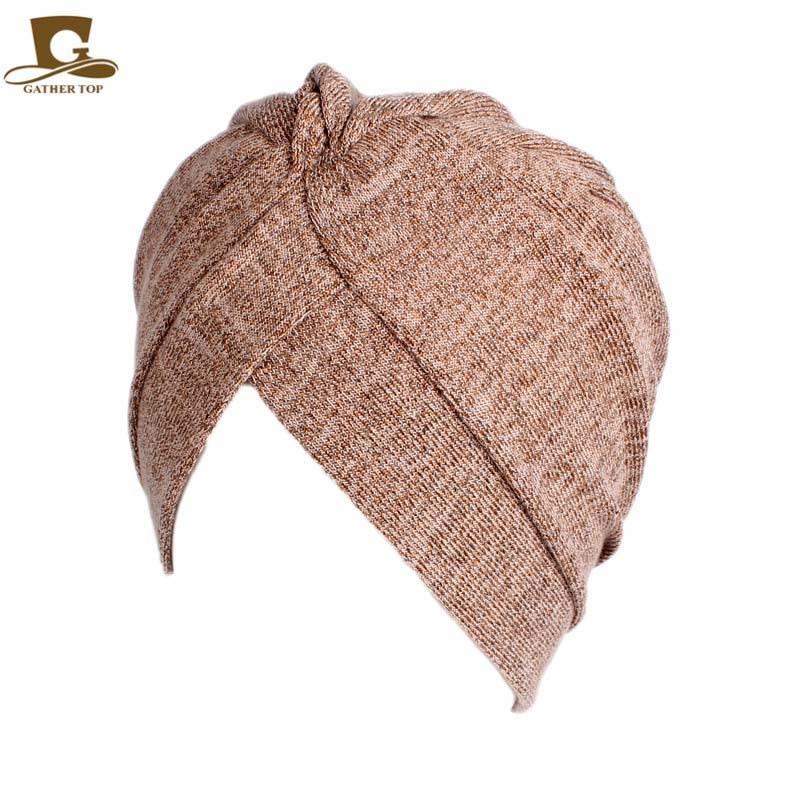 Frauen Baumwolle Motorhaube Kopfbedeckungen Turban Unbegrenzte 100% - Bekleidungszubehör - Foto 2