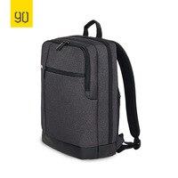 XIAOMI 90FUN классический Бизнес вместительный рюкзак для 15 дюймов Сумка для ноутбука небольшой рюкзак для школы путешествия Для мужчин Для женщ...