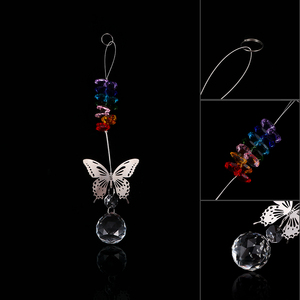 1pcs Handmade Butterfly Crysta