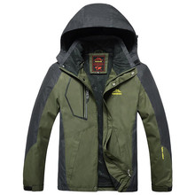 Jacket Men Outwear Waterproof Windbreaker Hooded Jackets Men